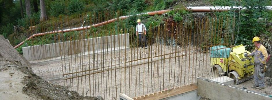 Retentionsbecken Reastalbach